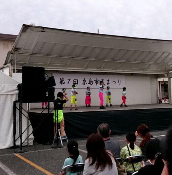 糸島市民まつり 中央ステージ