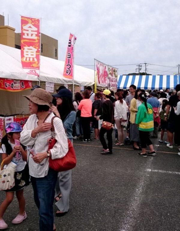 糸島市民まつり 金魚すくい