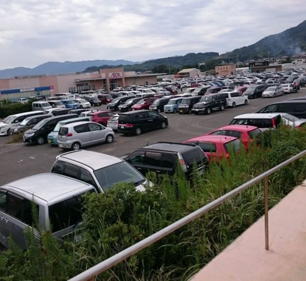 糸島グルメグランプリ2017駐車場