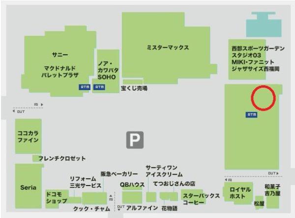 ウエストコート姪浜地図1