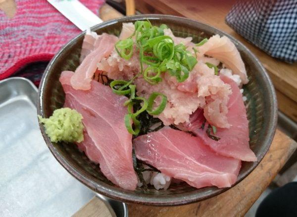千龍丸 マグロ丼