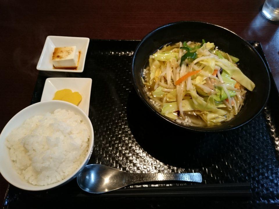 蓮華 麺ランチ
