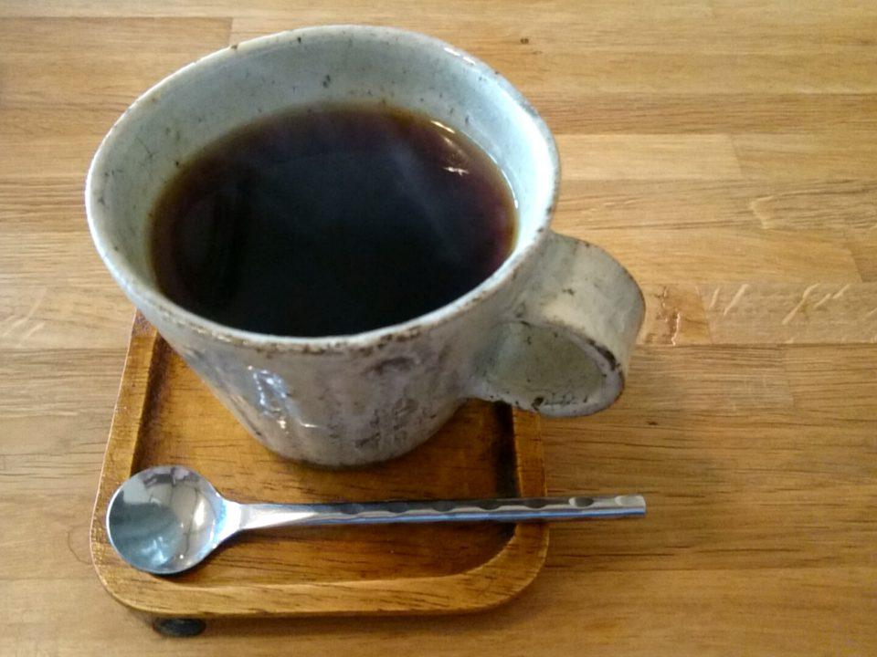 ジャムカフェかりん 食後のコーヒー