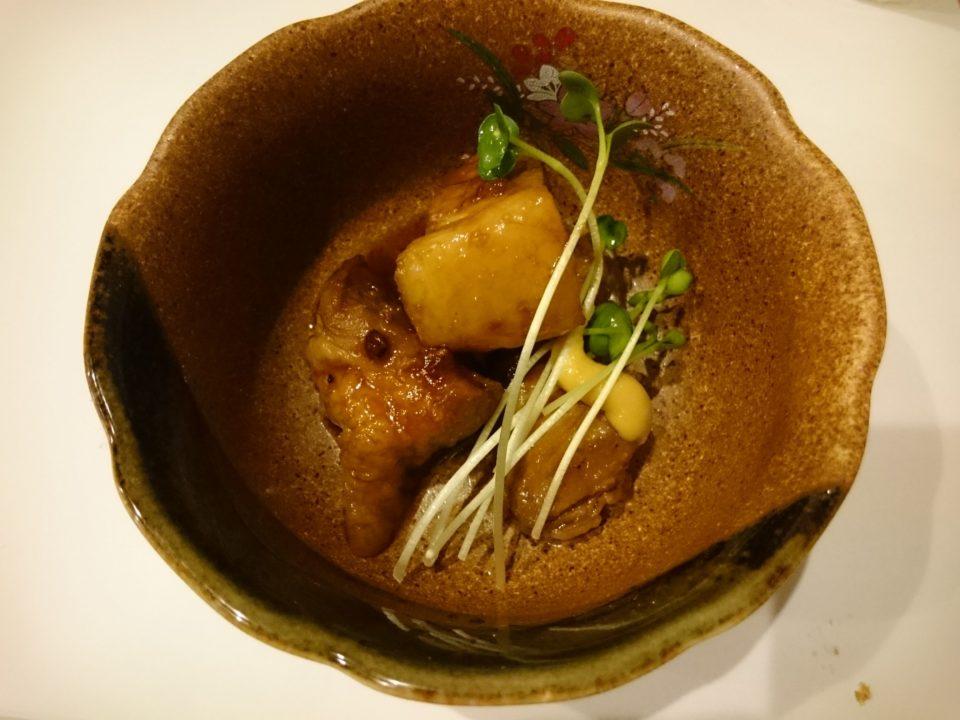 天ぷら東園 角煮