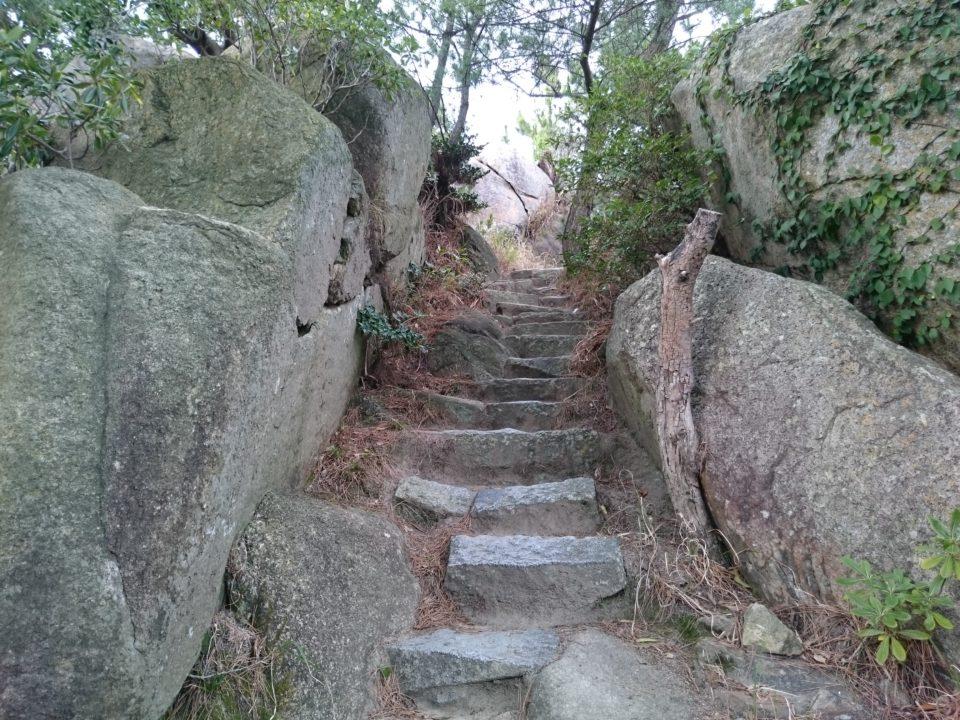 箱島神社 階段
