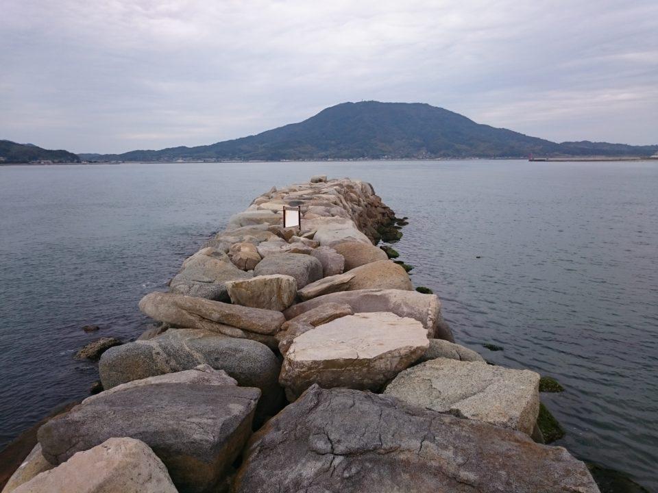 箱島神社 可也山