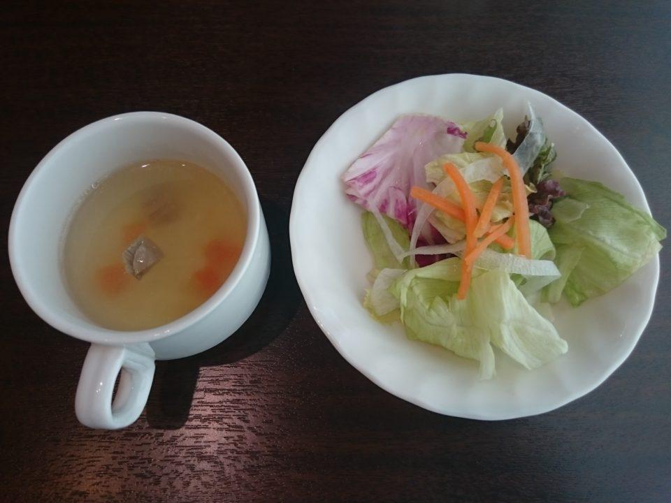 いきなりステーキ スープ サラダ