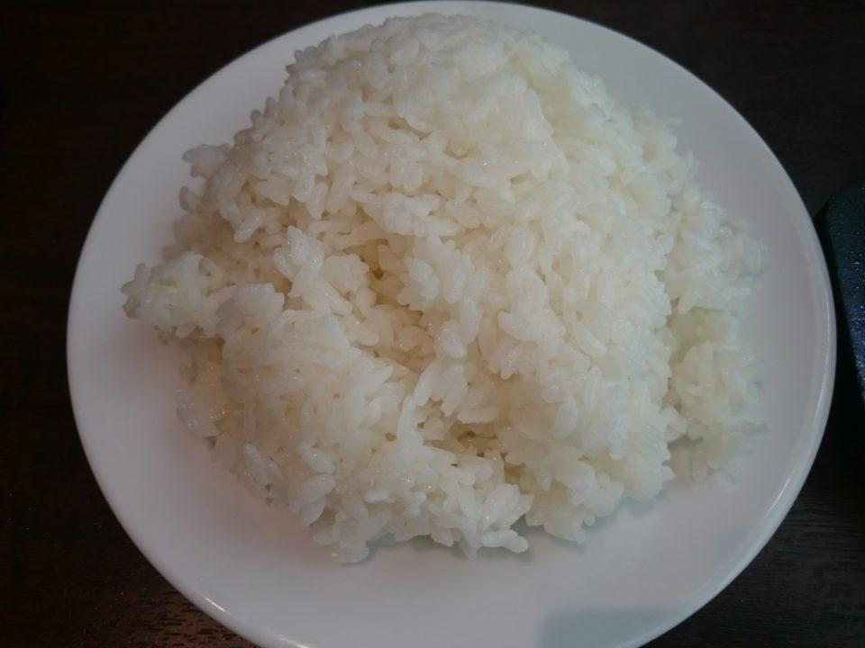 いきなりステーキ ライス