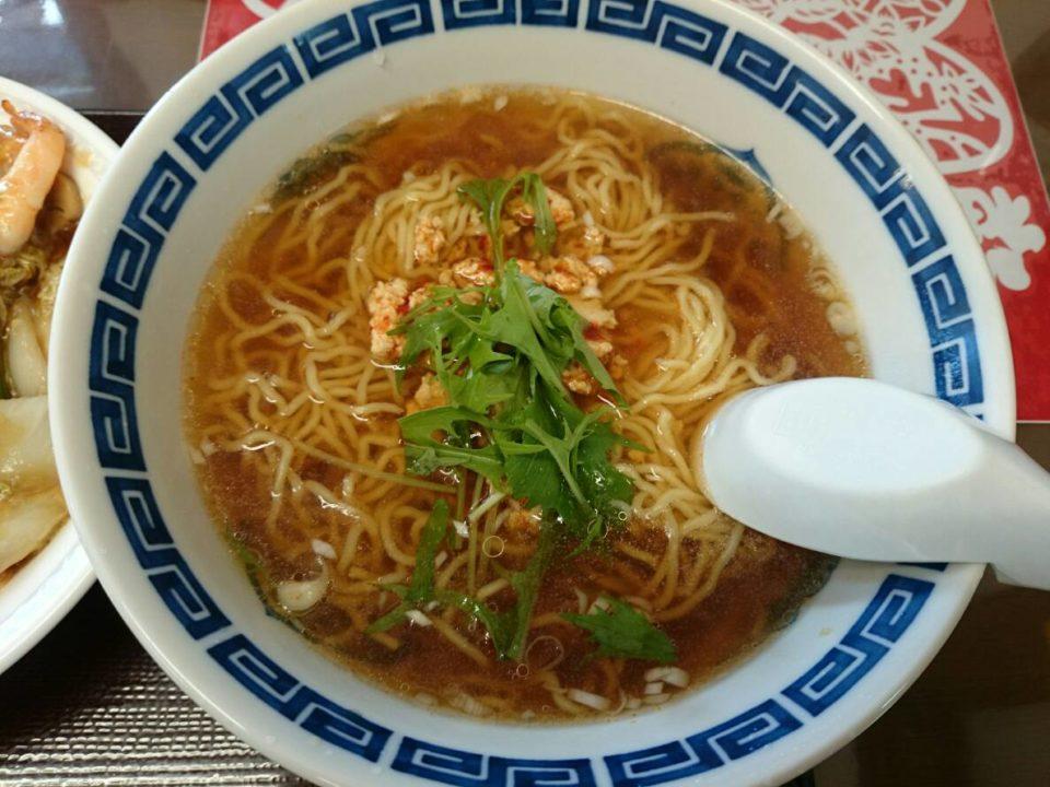 台湾ラーメン 縮れ麺