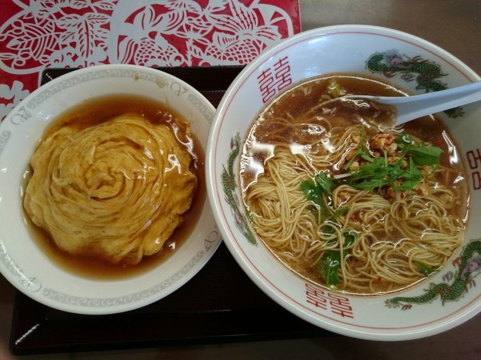 台湾ラーメンストレート 天津飯