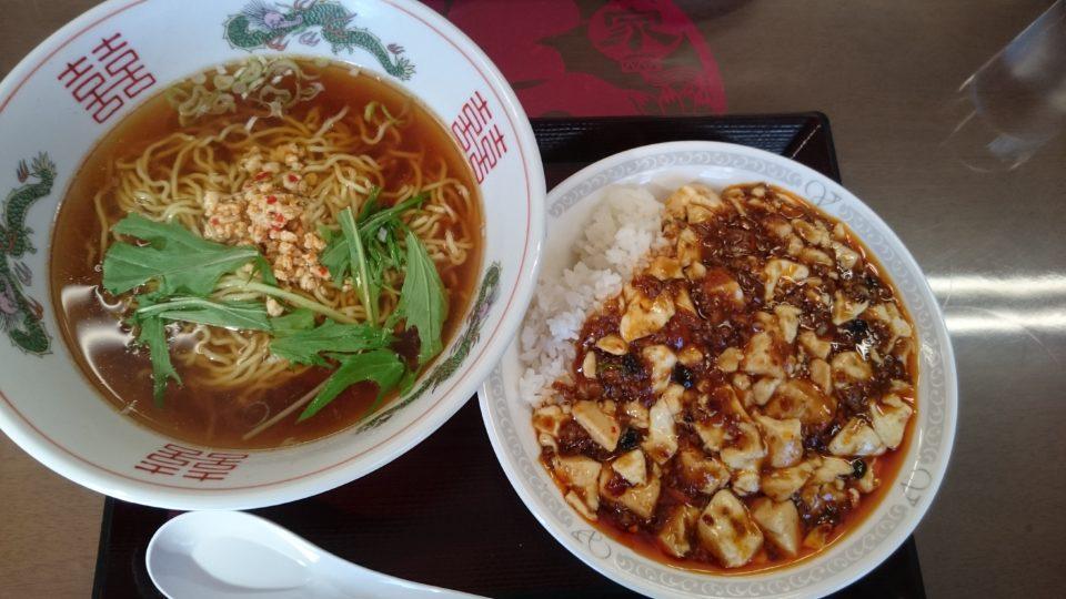 中華 劉 麻婆丼と台湾ラーメン 縮れ麺