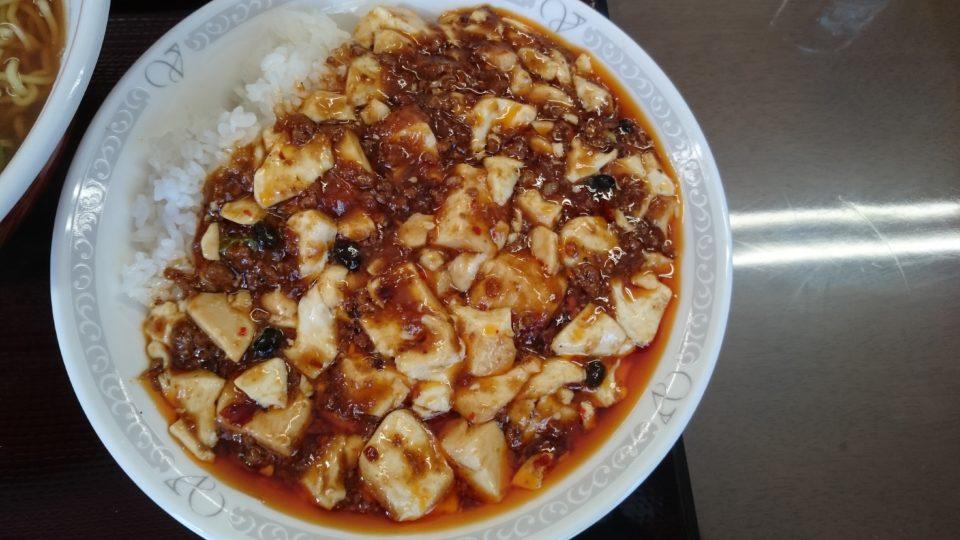 中華劉 麻婆丼