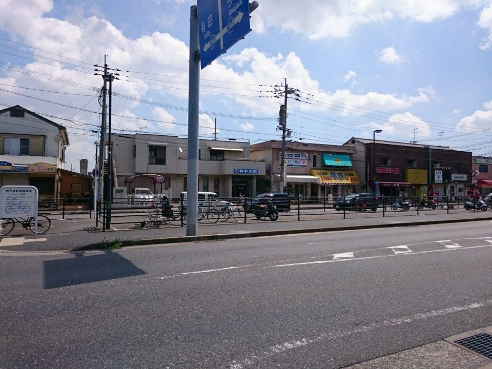 ユーカリー 前の道路