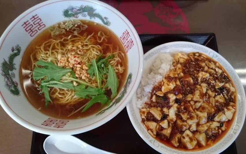 劉 台湾ラーメン 麻婆丼