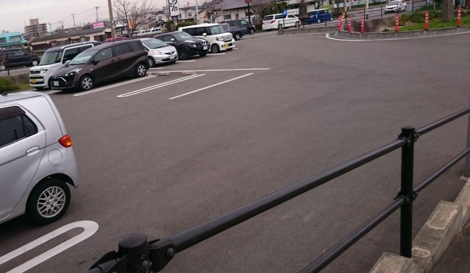 ブルージャム 駐車場