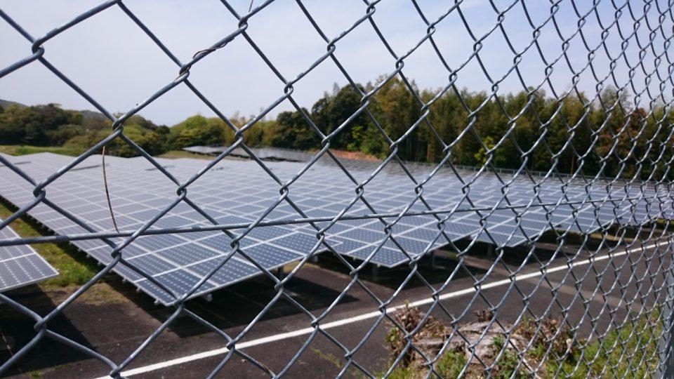 神石 太陽発電