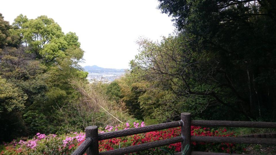 伊都宮地嶽神社 展望台