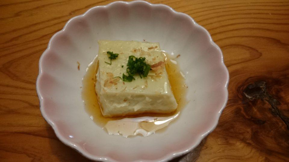 寿司割烹 奈加山 豆富