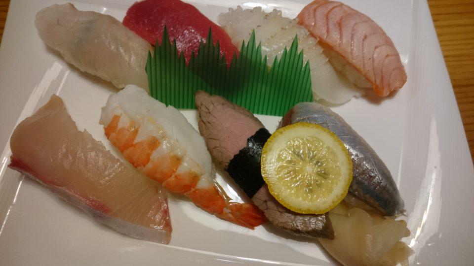 寿司割烹 奈加山 寿司ランチ