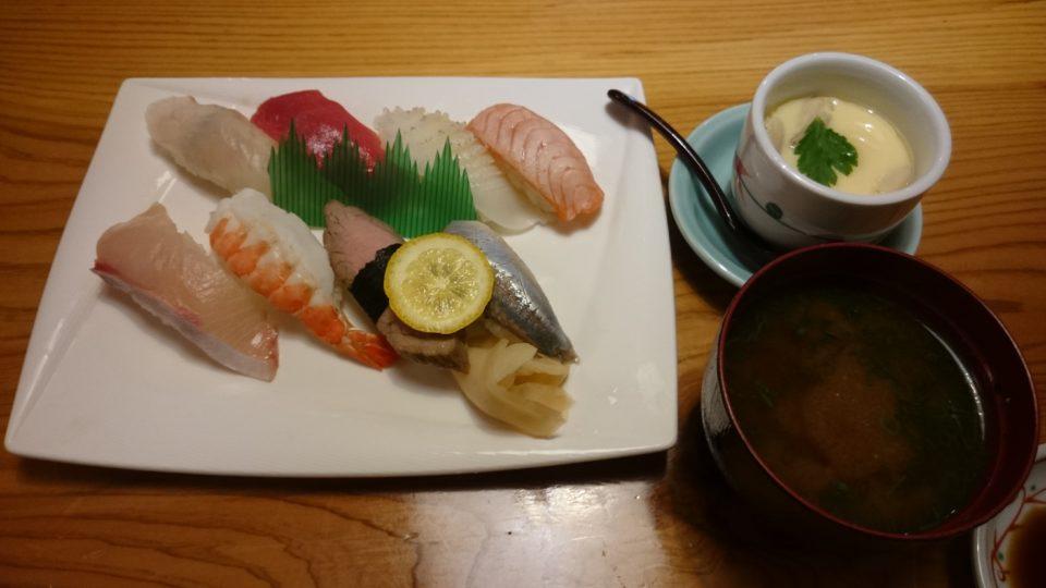寿司割烹 奈加山 すしランチ