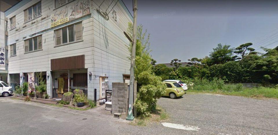 寿司割烹 奈加山 駐車場