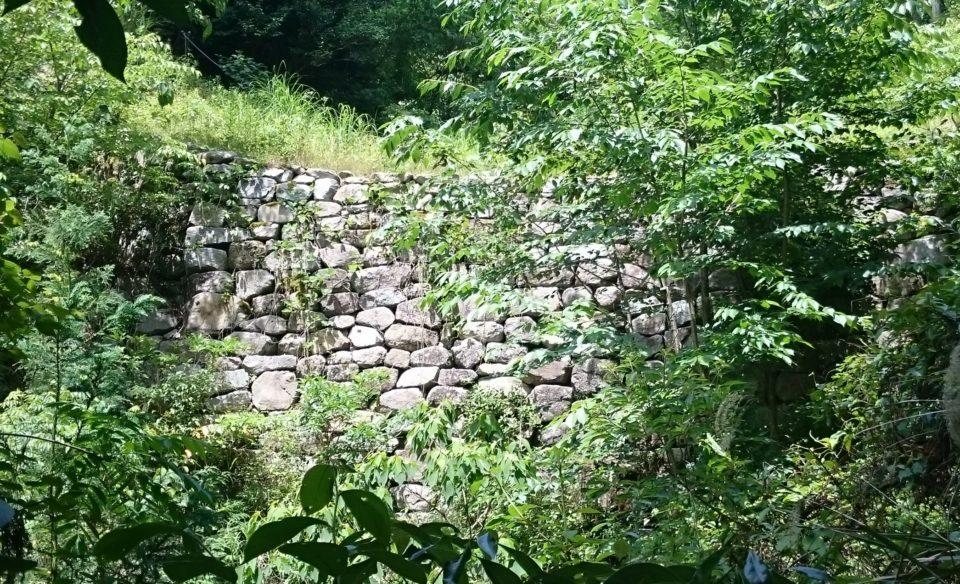 大野城の城壁 朝鮮式山城
