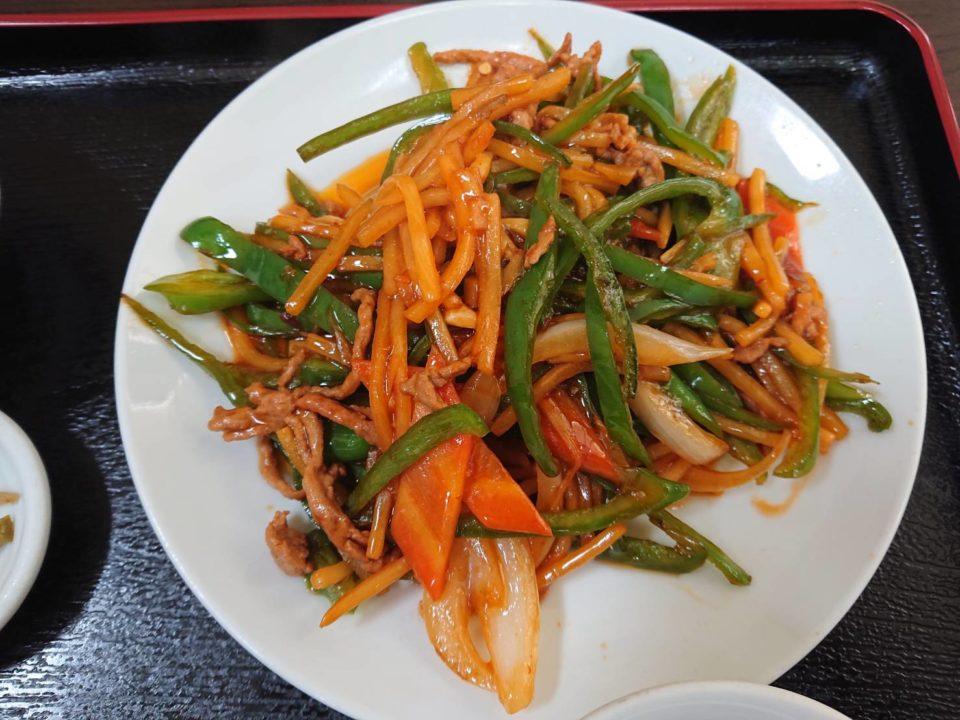 青椒肉絲 媽媽美食