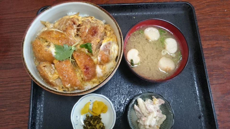 浜乃家 カツ丼
