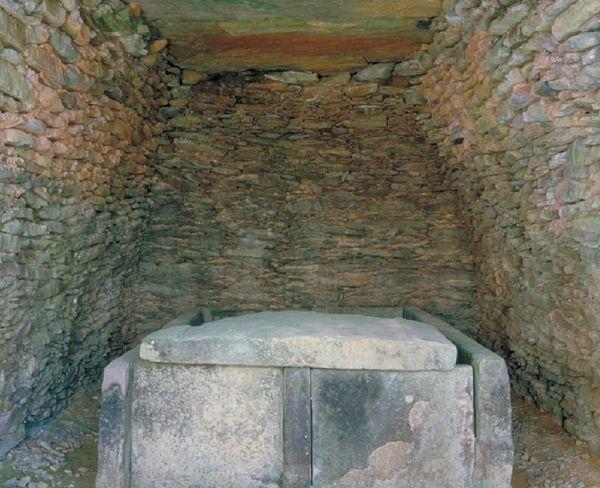 丸隈山古墳 石室