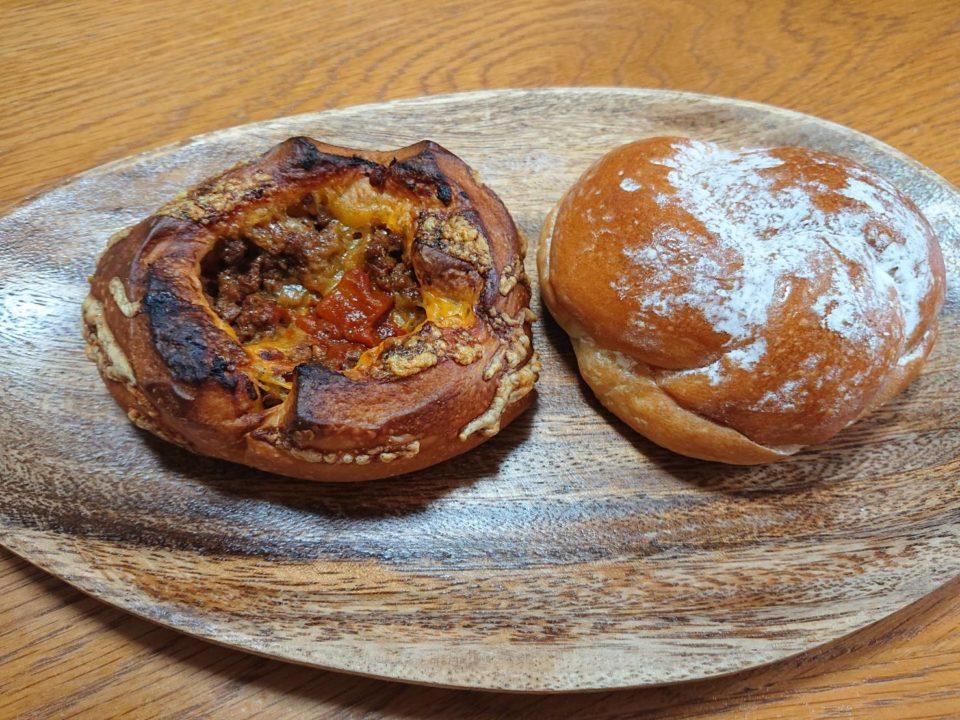 パン ノーミ 練乳パン キーマカレー