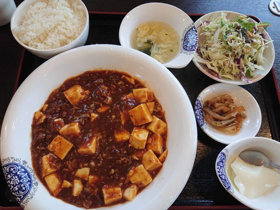 中華香香 麻婆豆腐定食
