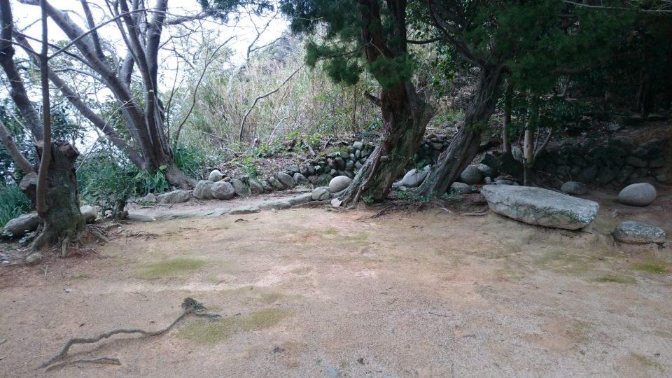 姫島 鎮山(ちんやま)登山道