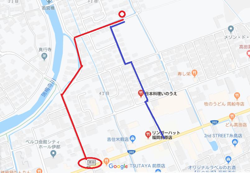 ごはん屋 朔 地図