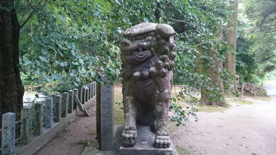 雷神社 狛犬