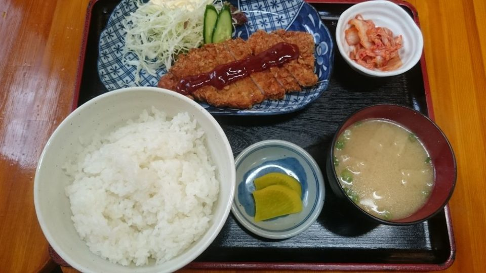 のんきや 次郎丸 トンカツ定食