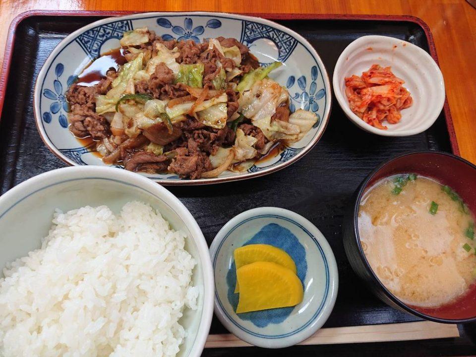 のんきや 次郎丸 焼肉定食