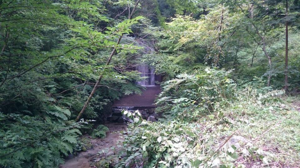 雷山自然歩道 滝