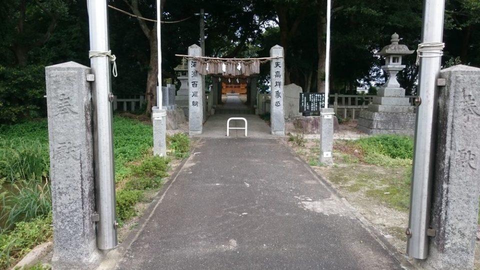 志登神社 外観