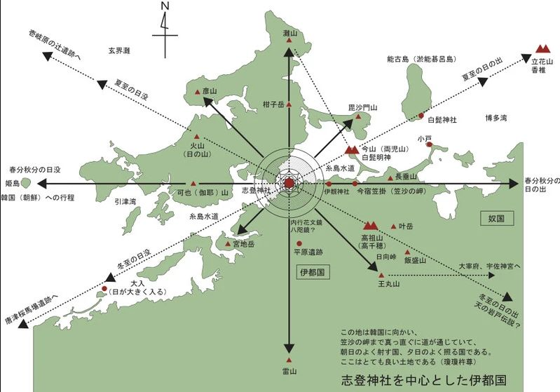 志登神社 過去地図