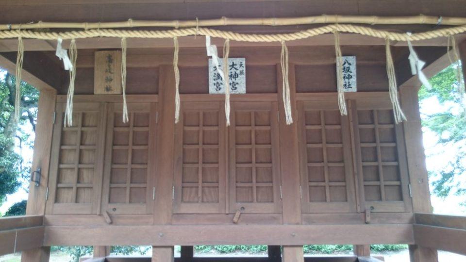志登神社 三柱神