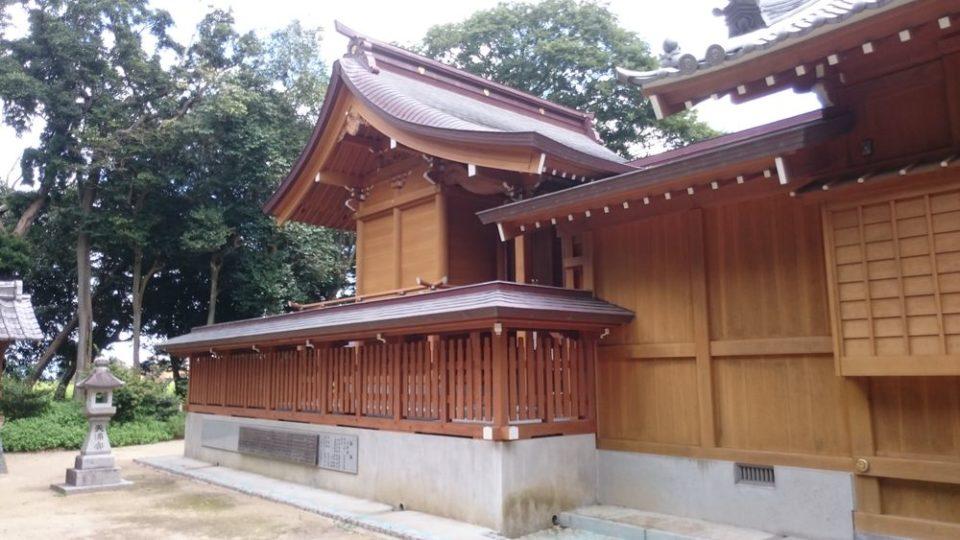 志登神社 神殿