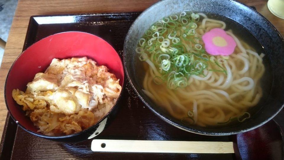 無添加うどんめい泉 ミニ丼セット