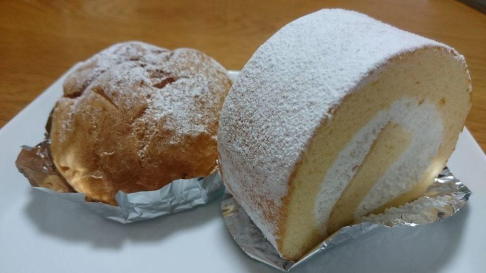 シモン野方店 ロールケーキとシュークリーム
