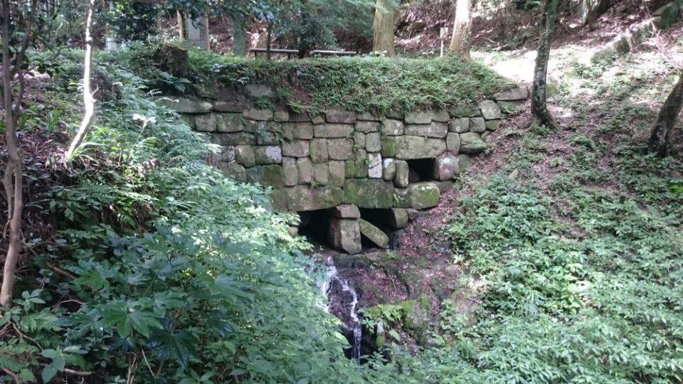 雷山神籠石 北水門