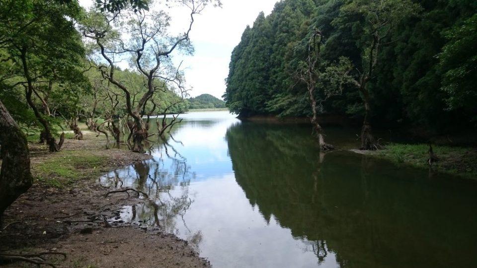 不動池 糸島 雷山