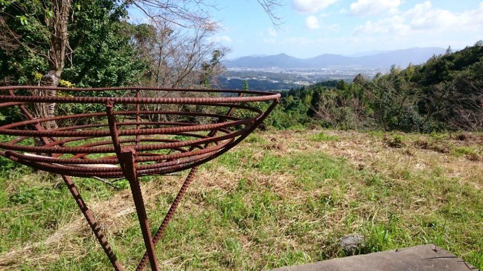 火山 瑠璃光寺からの景色