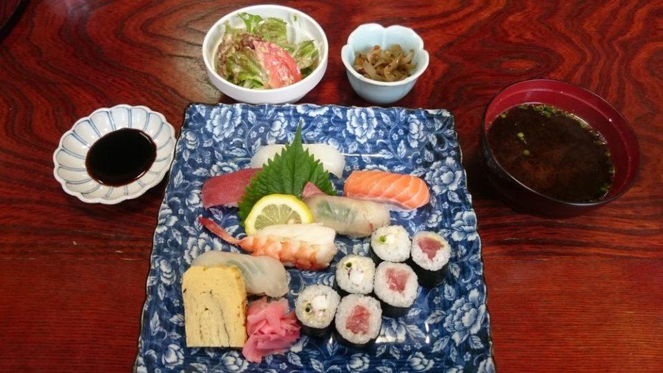 一慶寿司 寿司定食
