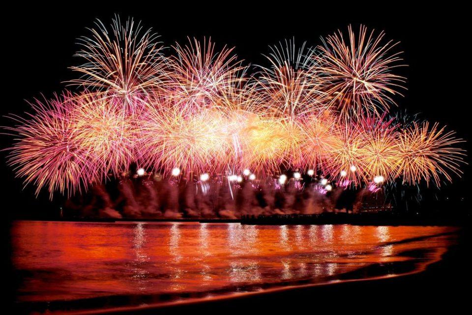 糸島市民まつり 花火大会