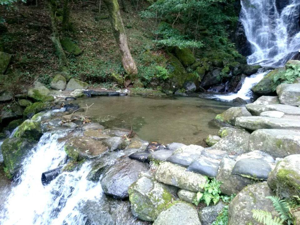 白糸の滝 釣り