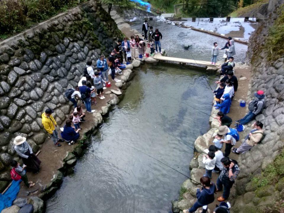 白糸の滝 ヤマメ釣り